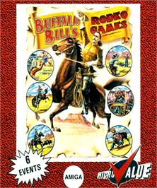 Box cover for Buffalo Bill's Wild West Show on the Commodore Amiga.