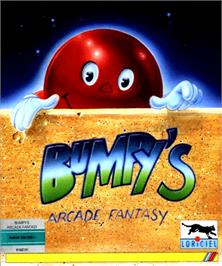 Box cover for Bumpy's Arcade Fantasy on the Commodore Amiga.