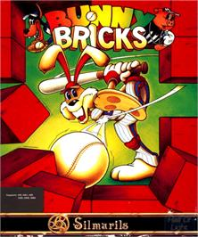 Box cover for Bunny Bricks on the Commodore Amiga.