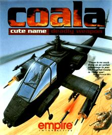 Box cover for COALA on the Commodore Amiga.