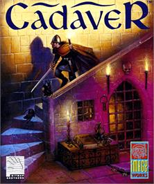 Box cover for Cadaver: The Payoff on the Commodore Amiga.