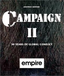 Box cover for Campaign 2 on the Commodore Amiga.