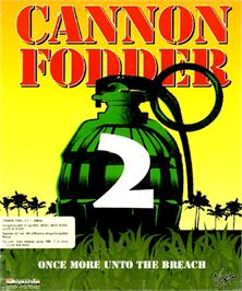 Box cover for Cannon Fodder 2 on the Commodore Amiga.