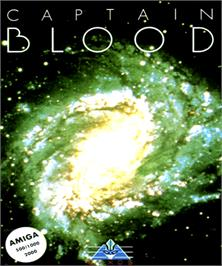 Box cover for Captain Blood on the Commodore Amiga.