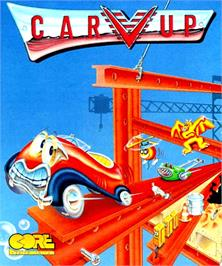 Box cover for Car-Vup on the Commodore Amiga.