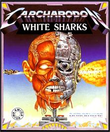 Box cover for Carcharodon: White Sharks on the Commodore Amiga.