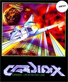 Box cover for Cardiaxx on the Commodore Amiga.