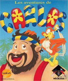 Box cover for Carlos on the Commodore Amiga.