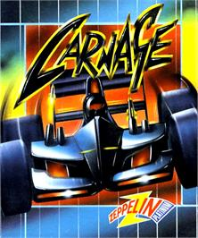 Box cover for Carnage on the Commodore Amiga.