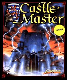 Box cover for Castle Master on the Commodore Amiga.