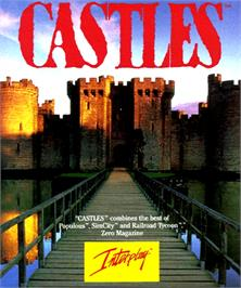 Box cover for Castles: The Northern Campaign on the Commodore Amiga.