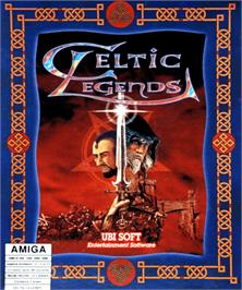 Box cover for Celtic Legends on the Commodore Amiga.
