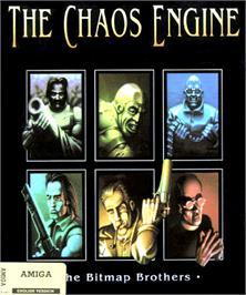 Box cover for Chaos Engine on the Commodore Amiga.