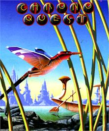 Box cover for Chrono Quest on the Commodore Amiga.