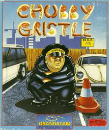 Box cover for Chubby Gristle on the Commodore Amiga.
