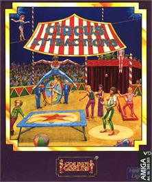 Box cover for Circus Attractions on the Commodore Amiga.