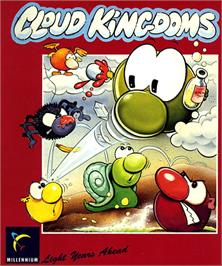 Box cover for Cloud Kingdoms on the Commodore Amiga.