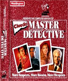 Box cover for Clue: Master Detective on the Commodore Amiga.
