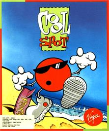 Box cover for Cool Spot on the Commodore Amiga.