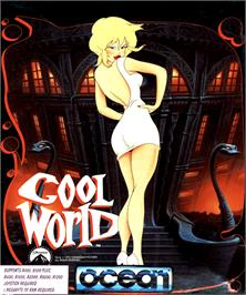 Box cover for Cool World on the Commodore Amiga.