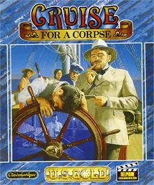 Box cover for Cruise for a Corpse on the Commodore Amiga.