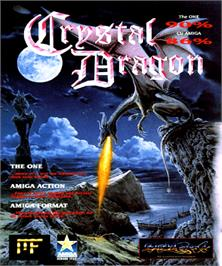 Box cover for Crystal Dragon on the Commodore Amiga.