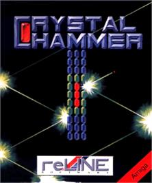 Box cover for Crystal Hammer on the Commodore Amiga.