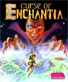 Box cover for Curse of Enchantia on the Commodore Amiga.