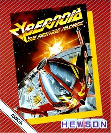 Box cover for Cybernoid: The Fighting Machine on the Commodore Amiga.