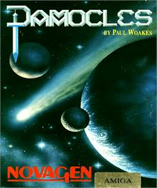 Box cover for Damocles: Mercenary 2 on the Commodore Amiga.