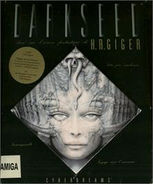 Box cover for Dark Seed on the Commodore Amiga.
