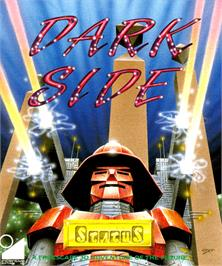 Box cover for Dark Side on the Commodore Amiga.