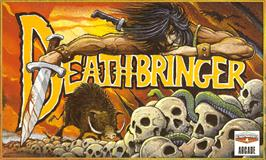 Box cover for Death Bringer on the Commodore Amiga.