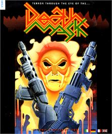 Box cover for Death Mask on the Commodore Amiga.