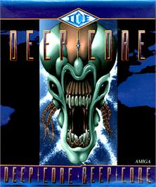 Box cover for Deep Core on the Commodore Amiga.