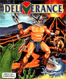 Box cover for Deliverance: Stormlord 2 on the Commodore Amiga.