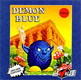 Box cover for Demon Blue on the Commodore Amiga.