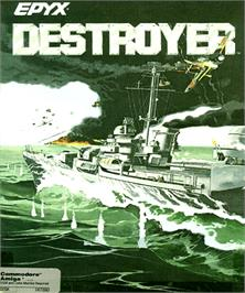 Box cover for Destroyer on the Commodore Amiga.