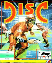Box cover for Disc on the Commodore Amiga.
