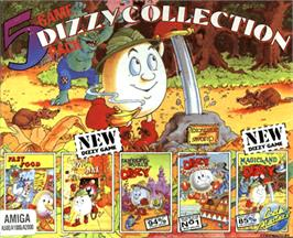 Box cover for Dizzy Collection on the Commodore Amiga.