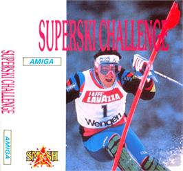 Box cover for Downhill Challenge on the Commodore Amiga.