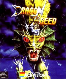 Box cover for Dragon Breed on the Commodore Amiga.