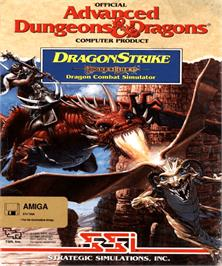 Box cover for Dragon Strike on the Commodore Amiga.