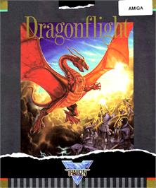 Box cover for Dragonflight on the Commodore Amiga.
