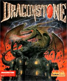 Box cover for Dragonstone on the Commodore Amiga.