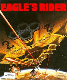 Box cover for Eagle's Rider on the Commodore Amiga.