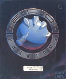 Box cover for Eco Phantoms on the Commodore Amiga.