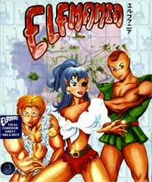 Box cover for Elfmania on the Commodore Amiga.