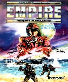 Box cover for Empire: Wargame of the Century on the Commodore Amiga.
