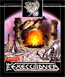 Box cover for Executioner on the Commodore Amiga.